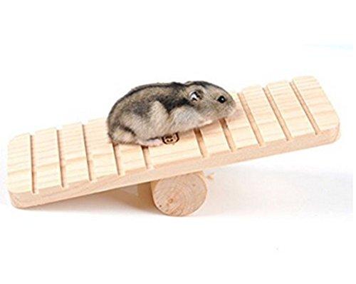 chytaii columpio mecedora para hámster juego de balancín juguetes de pequeño animal ratón erizo...