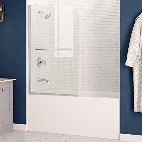 ANZZI Myth 34 x 58-inch Frameless Tub Door in Polished