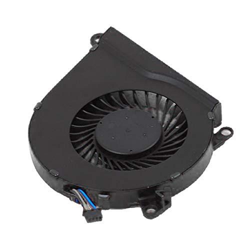 Almencla Ventilador de CPU Enfriador de Laptop Piezas de Repuesto para HP Serie, OEM: 858970-001, NS75B00-15K10