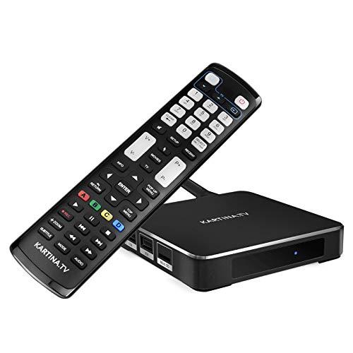 Kartina X - IPTV Receiver für Kartina.TV - Russisches Fernsehen - 4k Ultra HD 1080p 4Kp603D HEVC H.265 HDMI Micro SD USB Ethernet - Linux + Android TV-175K Картина ТВ