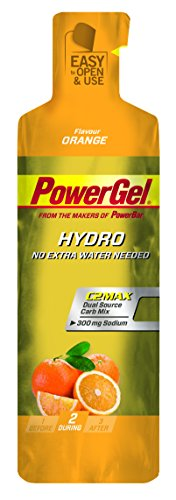 PowerBar PowerGel Hydro Orange, 6er Pack (6 x 67 g)