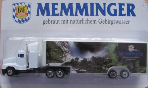 Memminger Nr.01 - B&E Biere - Kenworth T800 - US Sattelzug
