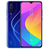 Xiaomi Mi 9 Lite (128GB, 6GB RAM) 6.39' Display, Dual SIM GSM Factory Unlocked - US & Global 4G LTE International Version (Aurora Blue, 128 GB)