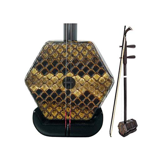 Erhu, Nationalmusikinstrument, Ebony Boutique Professionelle Leistung Erhu, Hand-gehäutet Ebony Erhu, Anfänger Erwachsene Kinder Examination Erhu (Größe: 83cm) ZONGKEJIDZ (Size : 83cm)