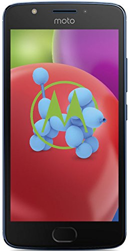 Motorola Moto E4 Smartphone (12,7 cm (5 Zoll), 2 GB RAM/16 GB, Android) oxford blau