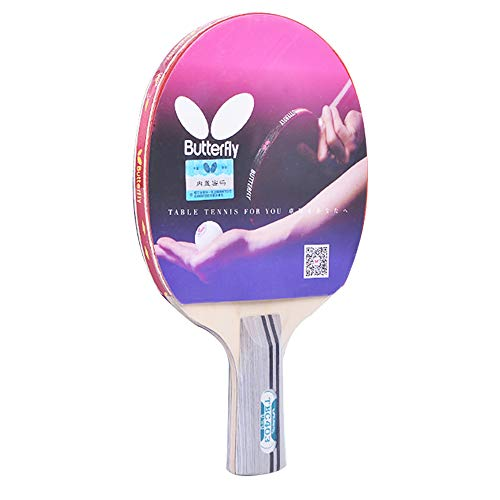 Great Deal! SSHHI Professional Ping Pong Paddle,5- Layers of Wood,Table Tennis Paddle,Suitable for S...