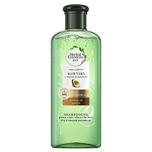 Herbal Essences Shampooing sans Sulfates avec Aloe Vera/Huile d'Avocat 225ml