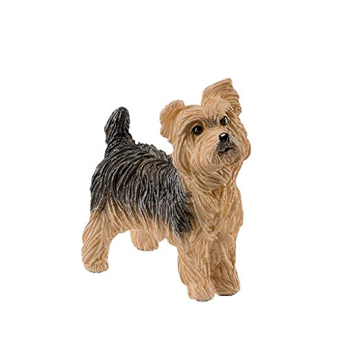 Schleich-13876 Yorkshire Terrier, Multicolor (13876