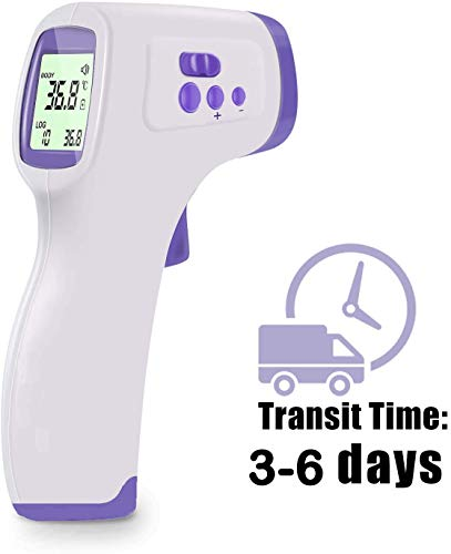 [Fast Shipping] Infrared Forehead Therm0meter, Digital Human Temperature Meter, with LCD Display, Non-Contact Forehead Temperature Gun for Adults and Baby