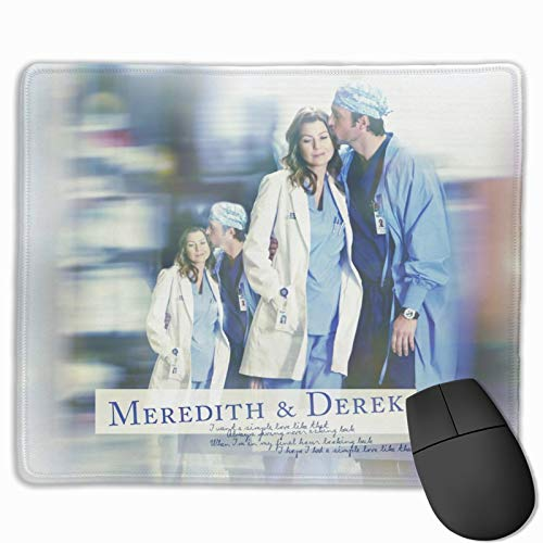 Rectangle Large Mouse Pad Extended Comfortable mat Grey's Anatomy Mouse Pad - Gaming Computer Lightweight Mouse Pad Non-Slip Mouse Mat for Laptop Kids Office Dorm Desktops,Computer,PC
