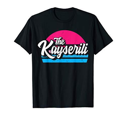 Kayseri 38 Memleket Türkei Retro Geschenkidee T-Shirt