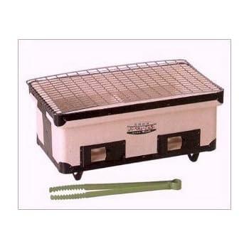 キンカ 角型ワイドコンロ(七輪)B3☆W410 アウトドアでのバーベキューに最適!炭火で美味しさUP