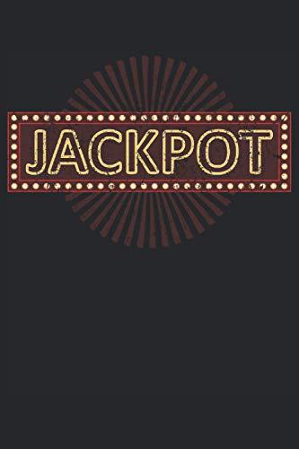 Jackpot - Spielautomat Casino Motiv Geschenk Notizbuch (Taschenbuch DIN A 5 Format Liniert): Spielautomaten Notizbuch, Notizheft, Schreibheft, ... in die Spielo, Casino oder Spielothek gehen.