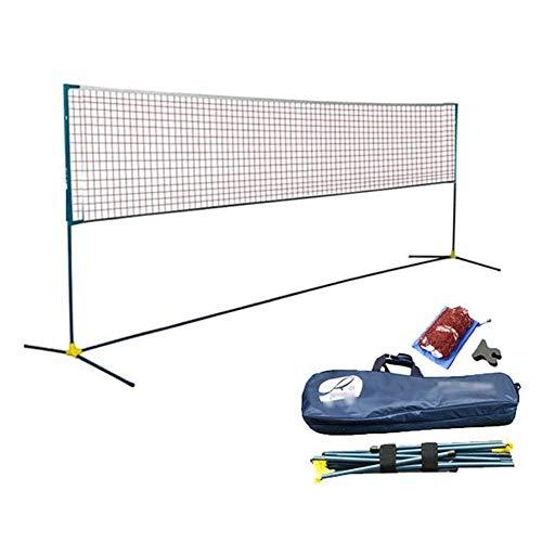 Marker Badminton Net-Rack, Super Light Profi Badminton-Netz, Außen Einfach Folding Badminton Net-Rack Mit Aufbewahrungstasche
