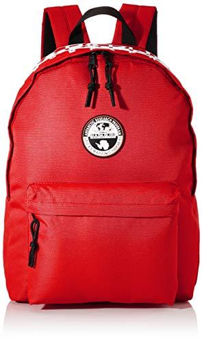 NAPAPIJRI Unisex Happy Daypack Re Luggage - Carry-On Luggage, Rosso accesso (Rosso) - NP0A4E9U