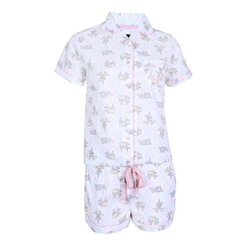 Cremefarbener Schlafanzug Klopfer Disney - 36-38 / UK 10-12 / EU 38-40