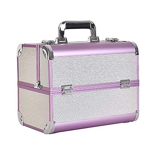 HWLL Valigetta per Cosmetici Beauty Case Professionale, Trucco Smalto per Unghie Beauty Box...