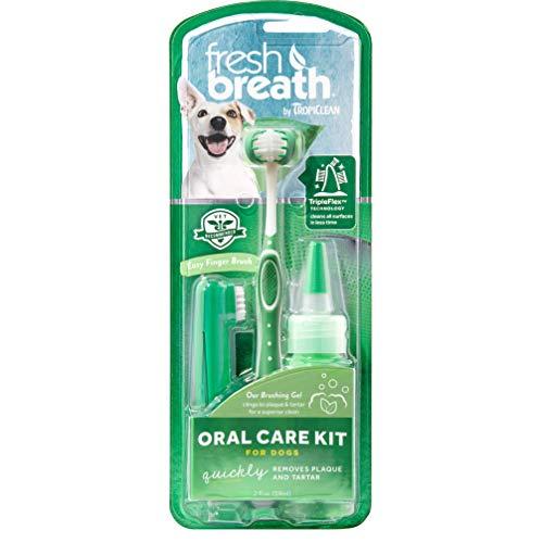 TROPICLEAN 0645095001299 - Fresh Breath Oral Care Kit Large 59 ml
