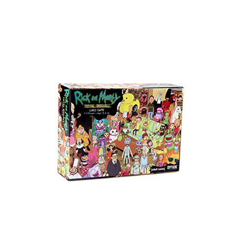 Rick And Morty Card Game - Family-Friendly Party Games - Card Games for Adults, Teens & Kids