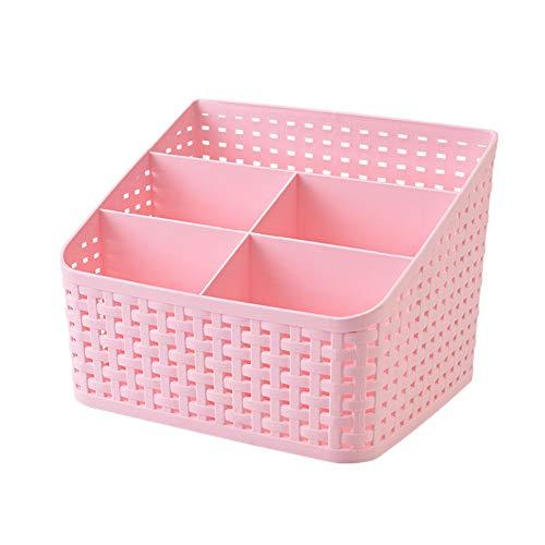 YuoungYuan kitchen baskets plastic small plastic storage baskets small wicker basket wicker baskets for storage small storage basket wicker storage basket pink