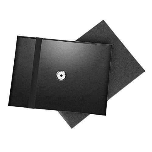 Neewer Bodenständer für Projektor Laptop Notebook, Palettenprojektor grosser Behälterhalter für 1/4' bis 3/8' Schraube Stativbefestigung Ständer (Tripod Stativ nicht im Lieferumfang enthalten)
