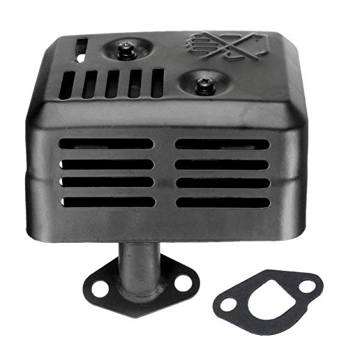 DIKAER EX35 Muffler Exhaust Assembly with Muffler Gasket for Honda GX160 GX200 5.5 HP 6.5HP Engine Muffler Replaces 18310-ZE1-900