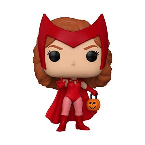 Funko POP! Bruja Escarlata y Visión: Wanda Halloween