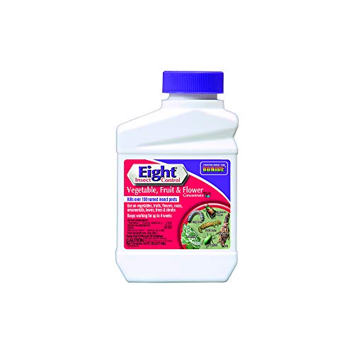 Bonide (BND442) - Eight Insect Control for Vegetable, Fruit, and Flower, Insecticide/Pesticide Concentrate (16 oz.)