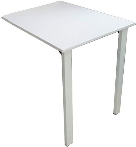NAN Table de Salle à Manger en Bois, Ordinateur pour Enfants, Table Pliante Invisible, Table à Feuilles caduques, Disponible en différentes Tailles (Taille   80  40  74cm)