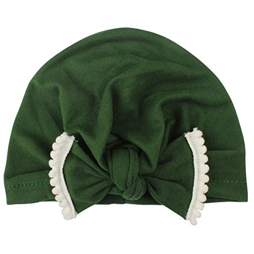 oobest ziekenhuis-hoed met strik van katoen voor pasgeborenen met luiertas met strik