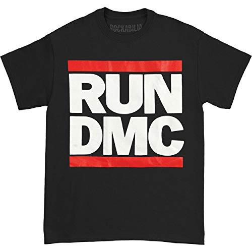 Bravado Men's Run Dmc Logo T-Shirt available in sizes from S to XXXL.