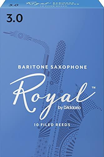 Royal Blätter für Baritonsaxophon Stärke 3.0 (10 Stück)