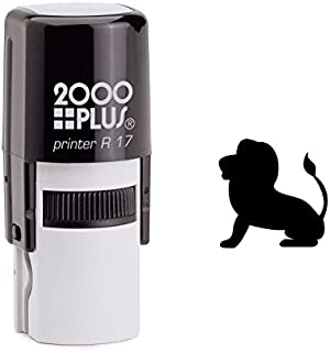 StampExpression - Lion King Self Inking Rubber Stamp - Black Ink (A-6125)