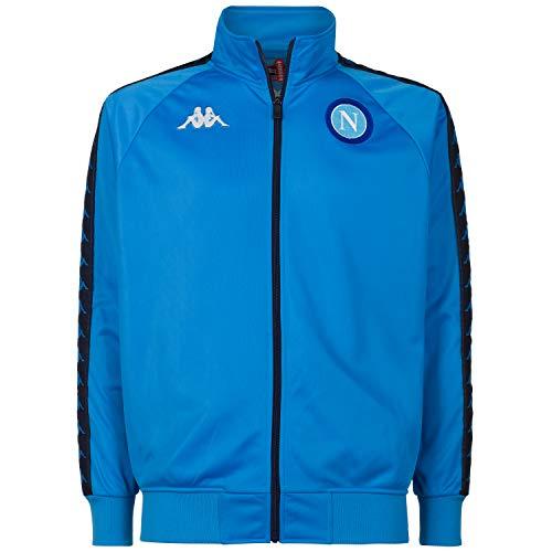 SSC NAPOLI – Retro Sweatshirt für Herren L hellblau