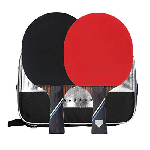Amazing Deal BlueBean Professional Table Tennis Racket Ping Pong Paddle Open Grip Advanced Tennis Ra...