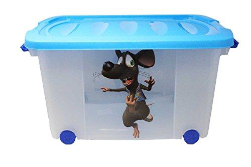 Eliware Spielzeugkiste (Multibox) mit Rollen (Maus-Multi)