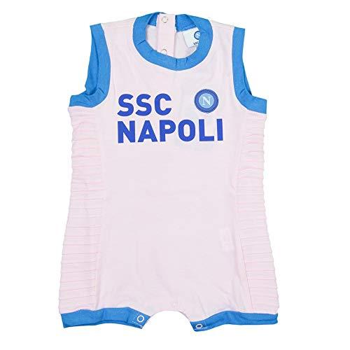 SSC Napoli P19i1n90573 Infant Strampelanzug Unisex 0-24, Unisex - Kinder 0-24 Jahre, P19I1N90573, Rosa, 6 Monate