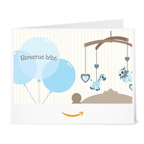 Chèque-cadeau Amazon.fr - Imprimer - Bébé (garcon)