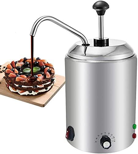 YUCHENGTECH Chocolate Melt Pot Queso Calentador Máquina de Fusión 2.5L Hot Fudge Mermelada Dispensador de Salsa 220V