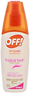 OFF! FamilyCare Insect Repellent III Tropical Fresh 6 fl oz (Pack of 12)