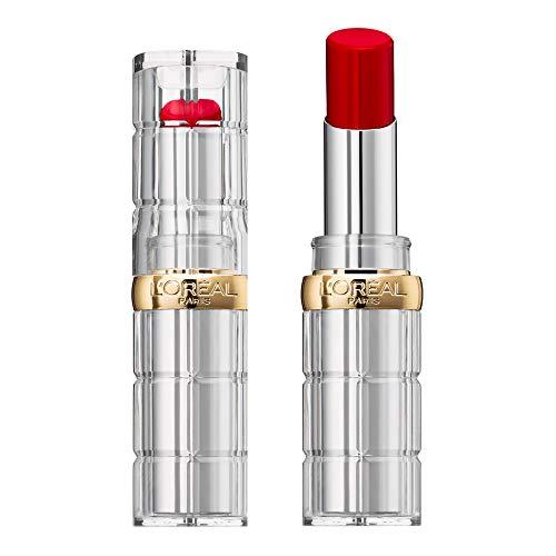 L'Oréal Paris Barra de Labios Color Riche Shine, Tono Rojo 350 Insanesation