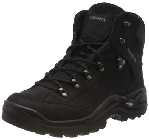 Lowa Mens Renegade GTX MID Ankle Boot, Nero, 44.5 EU
