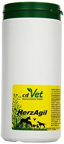 cdVet Naturprodukte HerzAgil 600 g - Hund, Katze, Heimtiere - Ergänzungsfuttermittel - Unterstützung der Herzfunktion - allgemeine Vitalitätsförderung - Unterstützung des Herz-Kreislaufsystems -