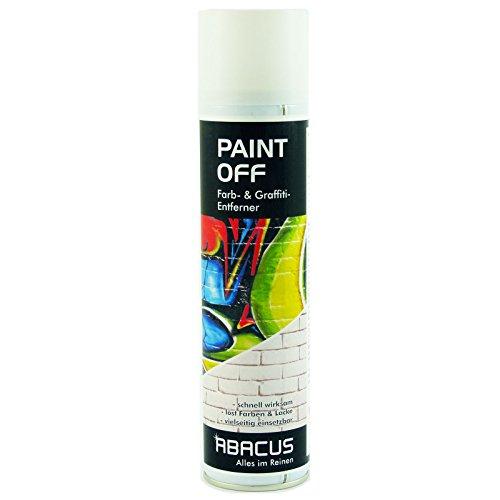 PAINT OFF 400 ml (3400) - Farbentferner Graffiti-Entferner Farblöser Lackentferner Fassadenreiniger Brückenreiniger Telefonzellenreiniger Filzstiftentferner Denkmalreiniger - ABACUS