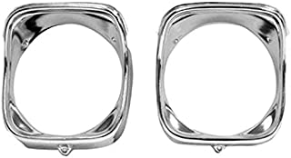 Eckler's Premier Quality Products 55-193346 El Camino Headlight Bezels, Inner & Outer, Right,