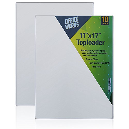 11x17 protective sleeve - 8