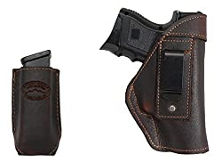 New Barsony Brown Leather IWB Holster
