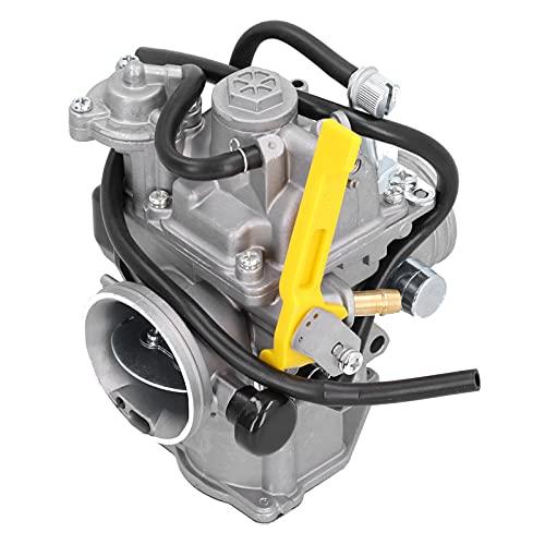 Aramox - Kit de carburador para bicicleta motorizada, piezas de ensamblaje de carburador de aleación de zinc para ATV, reemplazo de herramientas para Sportrax 300 TRX300EX 2X4 1993-2008