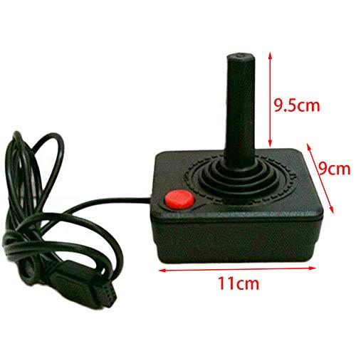 Joystick Controller 1.5M Kabel Action Einzel Knopf Upgraded Retro Ersatz ABS Spiel Rocker Gamepad Gaming 4-Way Hebel Konsole System für Atari 2600