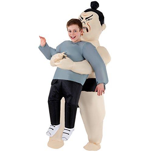 Morph Divertido Disfraz Inflable Sumo Niños - Una talla le queda a la mayoría , color/modelo surtido